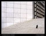 Solitary climb ...
