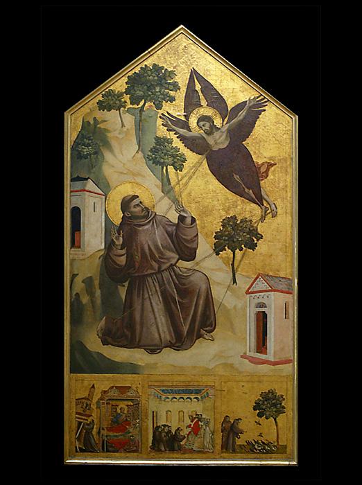 St François dAssise (1290) par GIOTTO