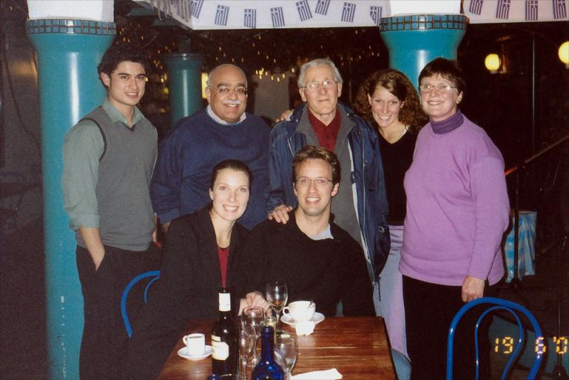 with Niven Family, NZ, June 2002