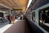 At the station.........