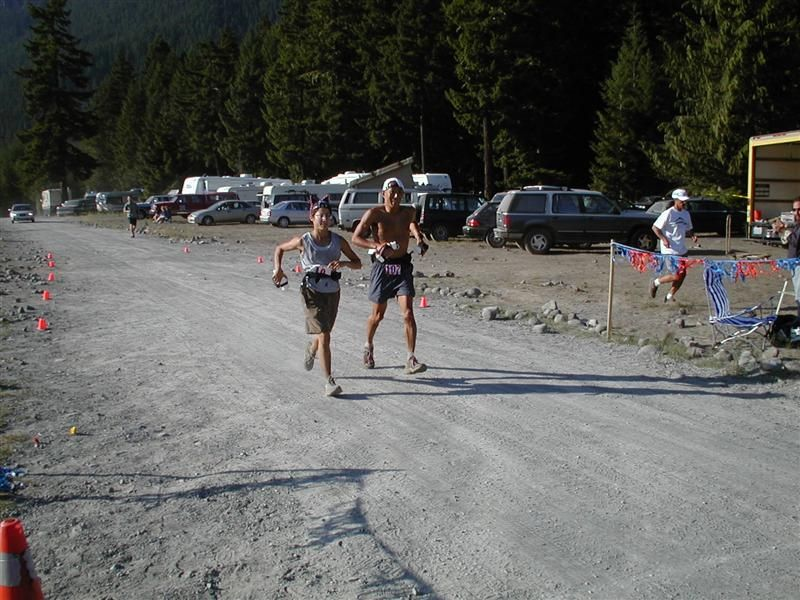 Katti and me finishing