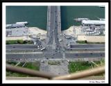 Eiffel Tower view - not for wimps!