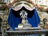 casket detail, templo de san francisco
