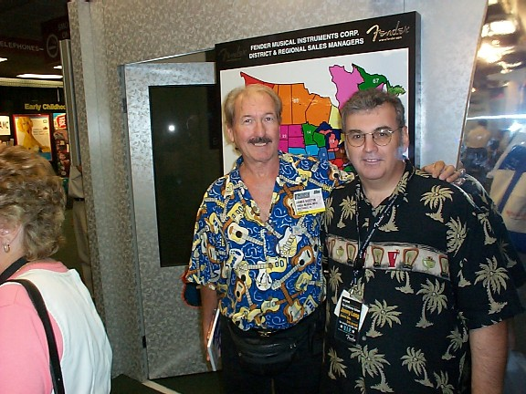 James Burton and me