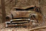 Another abandoned car