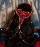 Alindia (back of head view)
