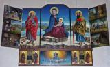 Painting in Wise Men Church - Vedasco