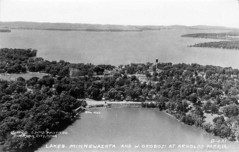 Minnewashta and West Okoboji 1942