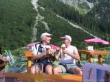 Kleinwalsertal - Gemsteltal - Einkehr im Hintere Gemstelhütte