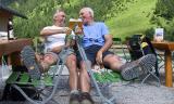 Kleinwalsertal - Gemsteltalwanderung (22.7.2002) - Einkehr am Hintere Gemstelhütte - sollen Sie auch unbedingt machen