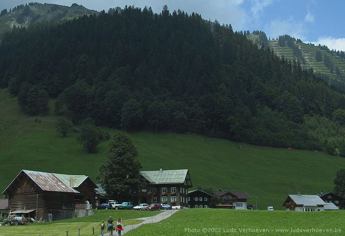 Kleinwalsertal - Gemsteltalwanderung (22.7.2002)