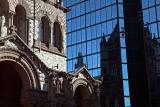 Boston, Trinity Church and strained glass