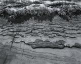 Sand Beach, snow and sand ripples