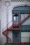 Boston, fire escape