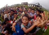 the children of Sumatra