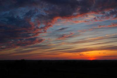 Lava Lace Sunset (April 25, 2005)
