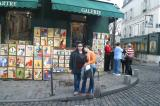 Monday morning we walked through the Montmartre neighborhood