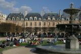 The Place des Vosges - Paris's oldest square