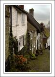 Gold Hill cottages, Shaftesbury