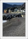 The pebble beach, Sidmouth