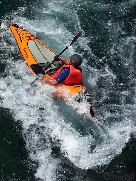 Kayak Water Dance