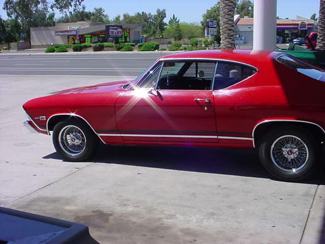 <br><b>1968 Chevelle 396</b>