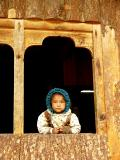 Tibetan Kid at Hongsho Checkpoint