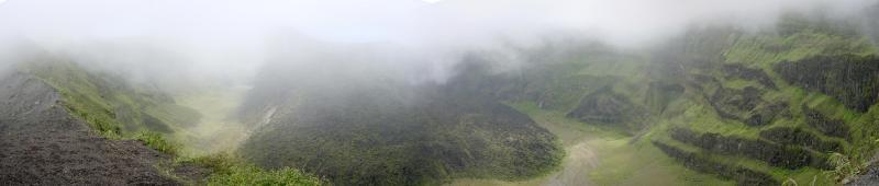 Crater of La Soufriere