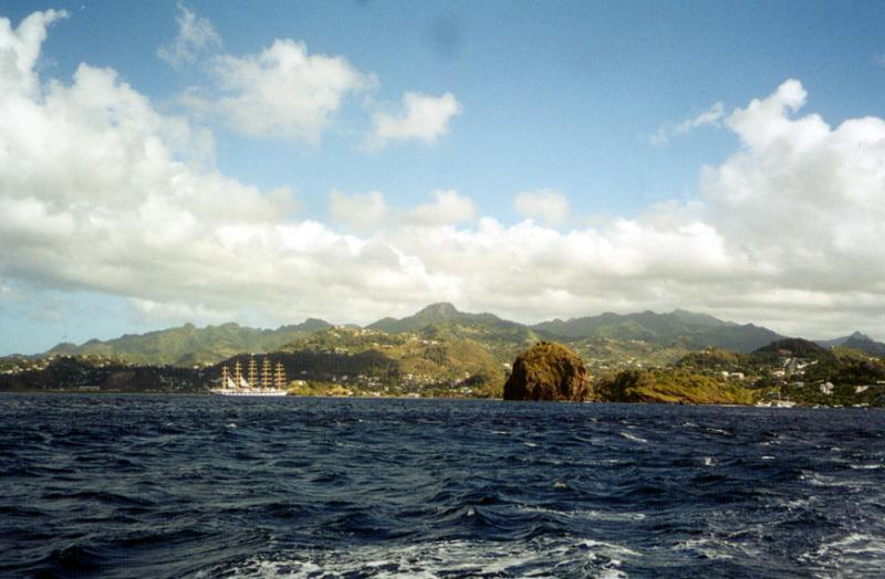 Southern Tip of St. Vincent