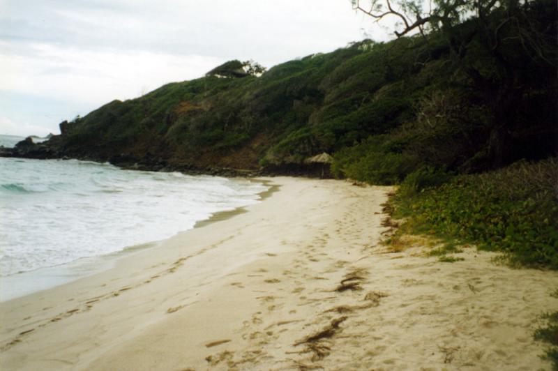 Macaroni Beach, Mustique