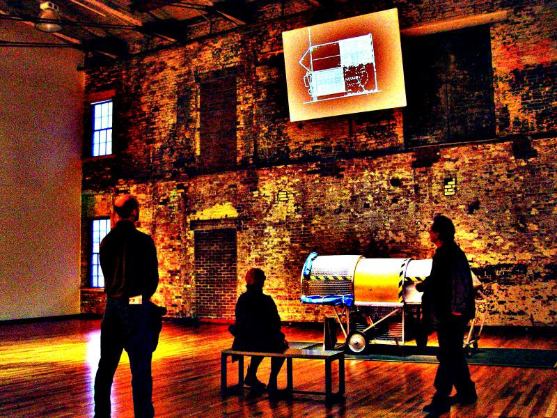 Mass Moca exhibit