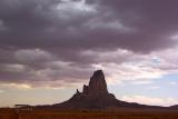 Monsoon Clouds over Navajo Country