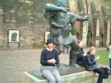 rachel at robinhood statue