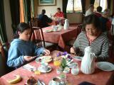Dining at Efri Brú