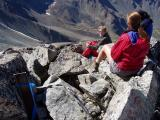 Matanuska Peak Turnaround Marker