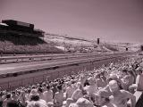 Raceway infrared photo