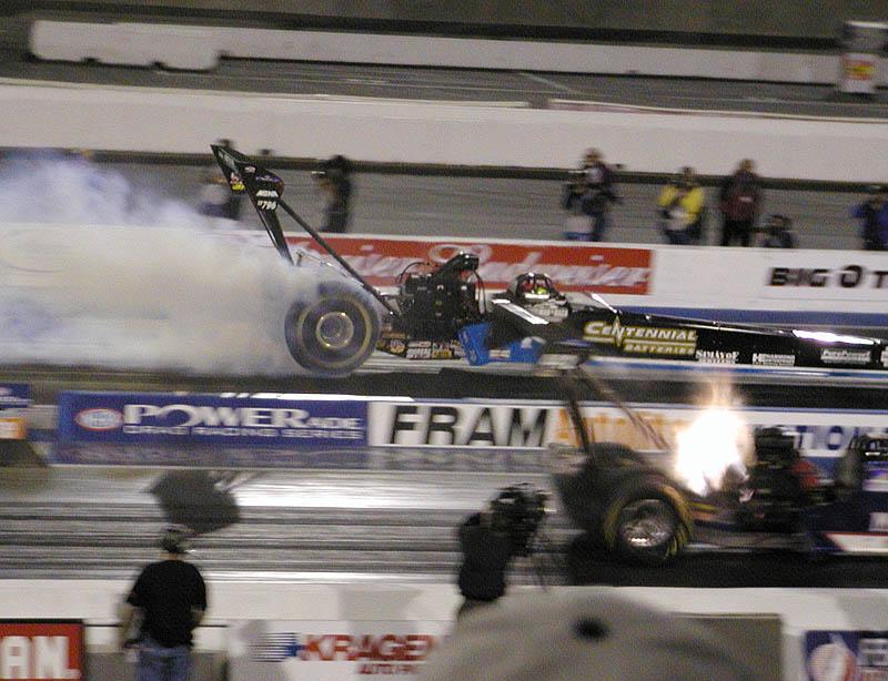Cory Mac smokes the tires