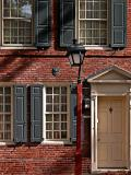 Colonial townhouse