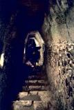 inside el castillo (climbing down)