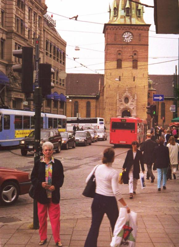 Color Neg. Downtown Oslo