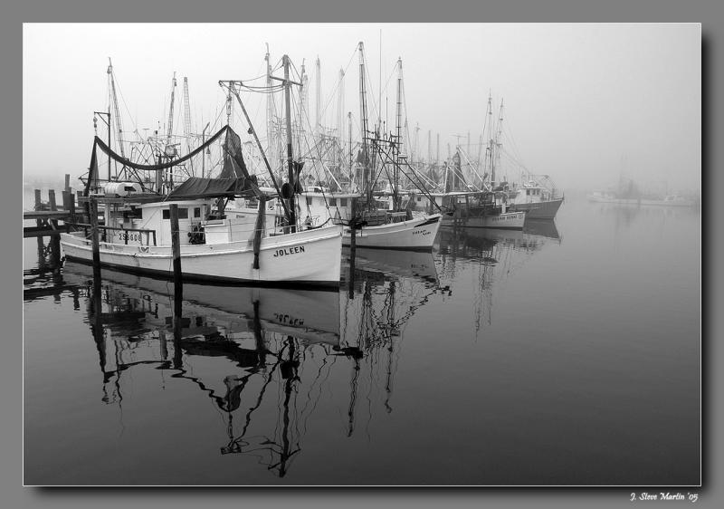 foggy morning at Pass Harbor