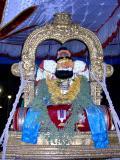 parthasarathi adorning kodAli mudichchu