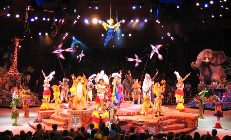 Festival of the Lion King Finale