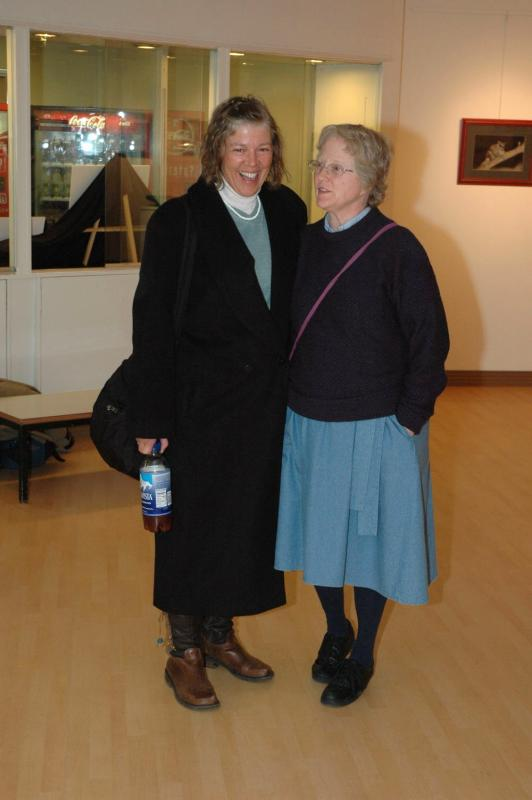 Old Friends Crete Brown (L) and Ruth Moorhead (R) VMG05 0018.jpg