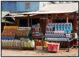 Gas Station on the way to Siem Reap from Poipet