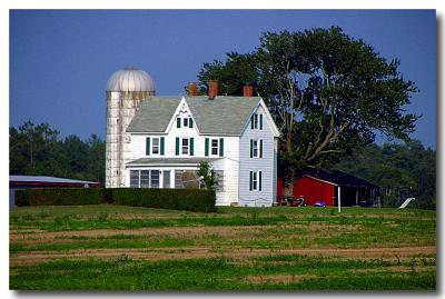 Virginia Farm House at 70 MPH!