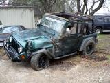 This is what your typical jeep looks like after a few rolls