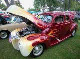Fast 1940 Ford - Signal Hill, CA Car Show