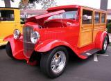 1932 Ford Woodie - El Segundo CA Main Street Car Show