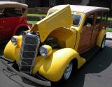 1935 Ford Woodie  - El Segundo Main Street Car Show